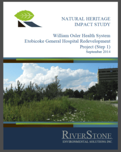 Natural Heritage Impact Study