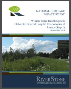Natural Heritage Impact Study