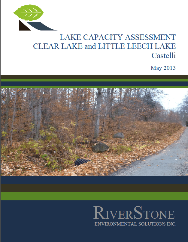 Lake Capacity Assessment